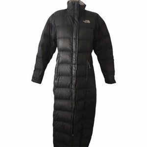 THE NORTH FACE Black Long Puffer Jacket Size Small